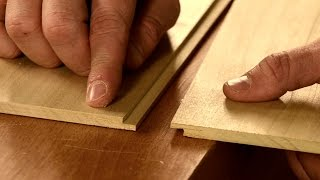 getlinkyoutube.com-How to Cut a Ship Lap Joint with Hand Tools