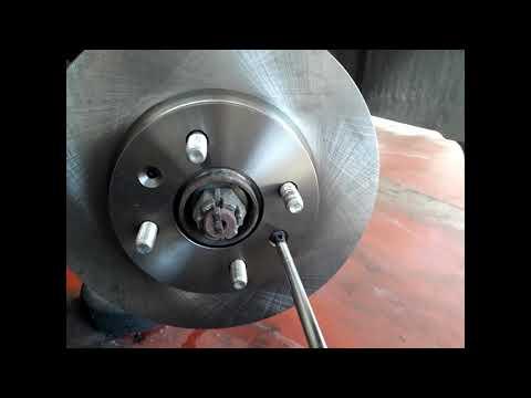 Замена передних тормозов Hyundai i20