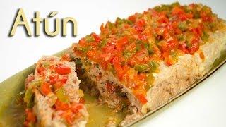 getlinkyoutube.com-Rollo de Atún - Receta de Arrollado Estilo Tuna Roll para Fin de Año y Año Nuevo!