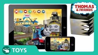 getlinkyoutube.com-Day of the Diesels Adventure App | Thomas & Friends