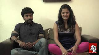 getlinkyoutube.com-Vj Anjana & Kayal hero Chandran share about their love affair | Star talk