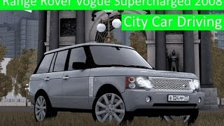 getlinkyoutube.com-City Car Driving 1.5.3 - Range Rover Vogue Supercharged 2008