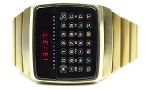 getlinkyoutube.com-RetroTech: Hewlett Packard HP-01  1977's Smartest Watch