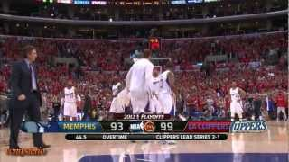 getlinkyoutube.com-Chris Paul 27pts vs Grizzlies Game4 (2012.05.08)- OT Show