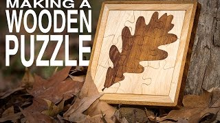 getlinkyoutube.com-How to Make a Wooden Puzzle