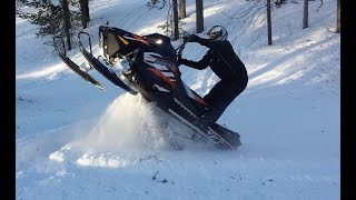 Best of snowmobiling in Ylläs 2016
