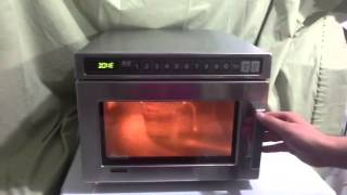 getlinkyoutube.com-Amana 2100 watt commercial microwave