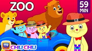 getlinkyoutube.com-Three Little Kittens Went To The Zoo – Wild Animals Sounds Nursery Rhymes by Cutians™ | ChuChu TV