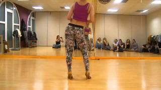 getlinkyoutube.com-Kizomba Lady Style - Elsa Mendes ( Kizomba Barcelona), Yudi Fox feat Nelo