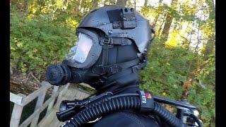 getlinkyoutube.com-Diving the RTD Dive/Underwater Helmet with the OTS GFFM