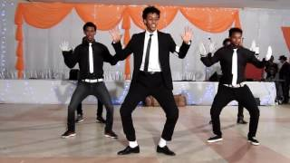 Eritreans 5 magnificent students copied MICHAEL JACKSON dance.SMAP GRADUTION STUDENTS DAY