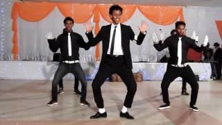 Eritreans 5 magnificent students copied MICHAEL JACKSON dance.SMAP GRADUTION STUDENTS DAY