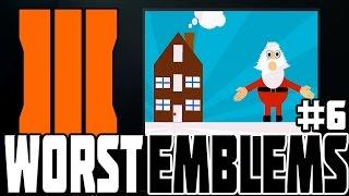 WORST BO3 EMBLEMS #6! Black Ops 3 Funny & Weird Emblems