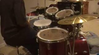 getlinkyoutube.com-DX Theme drum cover