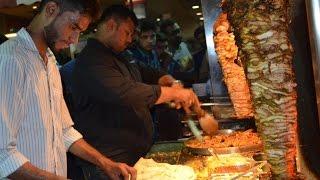 getlinkyoutube.com-Best Shawarma in Hyderabad || Indian Street Food || 6 varities of Rolls/ Shawrma at Grill 9