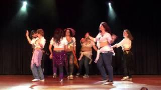 "getlinkyoutube.com-Oriental Dance Studio - Shaabi ""Belly Dance Expo"""