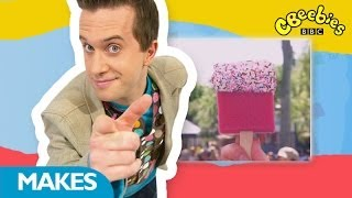 getlinkyoutube.com-CBeebies: Mister Maker Around The World - Joke Sponge Ice Lolly - 1 Minute Make
