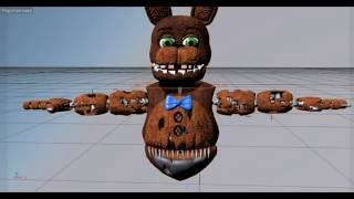 getlinkyoutube.com-[C4D Speed] Create Animatronic На русском FNAF