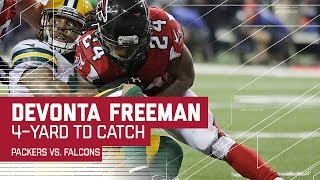 getlinkyoutube.com-Julio Jones Unreal Catch Sets Up Freeman TD! | Packers vs. Falcons | NFC Championship Highlights