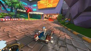 getlinkyoutube.com-El Chavo Kart, gameplay en español