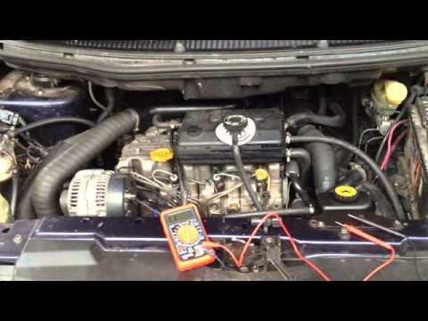 Chrysler Voyager 2.5 TD 98г. - стрелка тахометра, датчик коленвала, управляющая форсунка