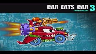 getlinkyoutube.com-Play Car Eats Car 3 Online Game Level 1-2-3-4-5 (  Premium Item Equipped )