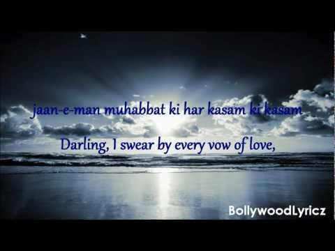 Hum Tumhare Hain Sanam [English Translation] Lyrics