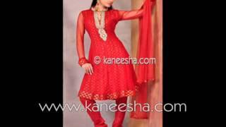 getlinkyoutube.com-Indian Fashion Party Dress, Designer Indian Dresses