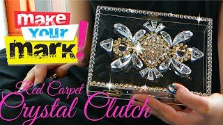 getlinkyoutube.com-How to: Crystal Clutch DIY