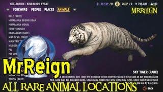 getlinkyoutube.com-Far Cry 4 - Complete Rare Animal Guide - All Rare Animal Locations