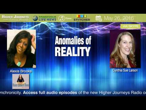 Anomalies of Reality with Cynthia Sue Larson (ft. Jordan Maxwell & Dianne Bischoff James)