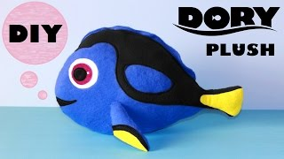 getlinkyoutube.com-DIY Dory Plush!!! | with Free Templates | Finding Dory