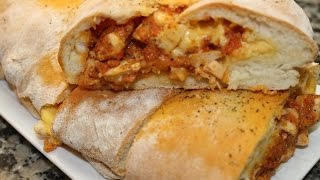 Pizza roulée facile -------  بيتزا رولي رائعة و شهية