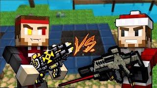 getlinkyoutube.com-SPECIAL WEAPONS CHALLENGE FT//AARON | Pixel Gun 3D