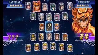 getlinkyoutube.com-Saint Seiya Omega Ultimate Cosmo PSP All characters (todos los personajes)