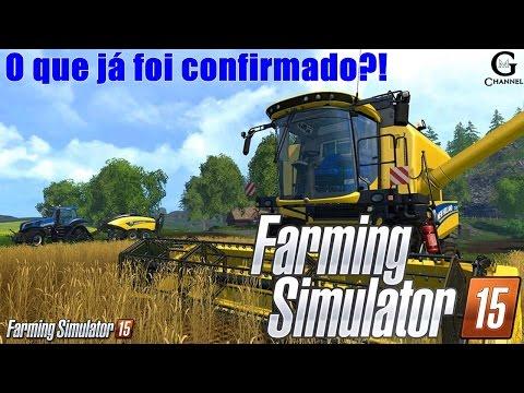 Farming Simulator 2015! Tratores, colheitadeiras e implementos já confirmados!