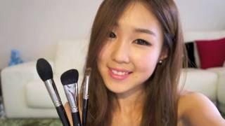 getlinkyoutube.com-HAKUHODO ♥ Best Brushes EVER!