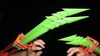 getlinkyoutube.com-Cara membuat cakar kertas | permainan Aliens dan Predator