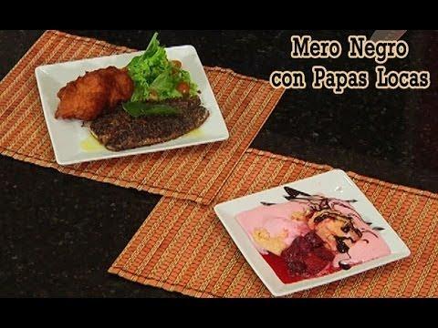 Mero Negro con Papas Locas y Ensaladilla de Minitomates, Tu Cocina Ricas Recetas - Canal Cosmovision