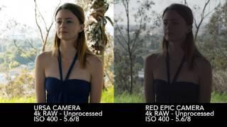 Blackmagic Ursa camera vs Red Epic - RAW vs. RAW