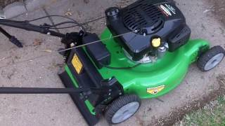 First Lawncutting Video for 2017