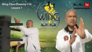 Wing Chun kung fu Dummy Form part 1-10