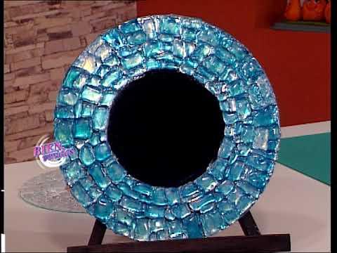 Martín Muñoz - Bienvenidas TV - Crea un marco de espejo redondo.