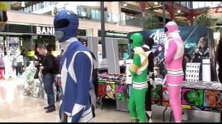 MOAR Mighty Morphsuit Power Rangers in Bolton