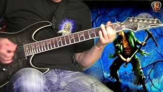 Iron Maiden - The Reincarnation of Benjamin Breeg - Guitar cover with solo