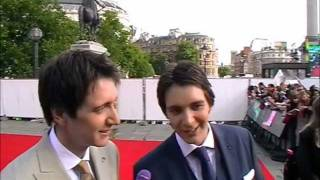 Oliver & James Phelps at the Harry Potter World Premiere