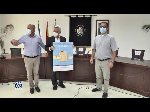 Acosol entrega 750 € a Cáritas Manilva