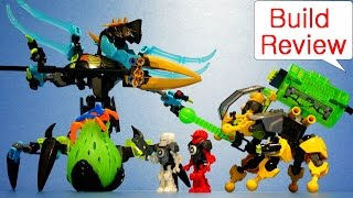 getlinkyoutube.com-Lego HeroFactory 44029 QUEEN Beast vs. FURNO, EVO & STORMER - Build Review (레고 히어로팩토리 장난감)