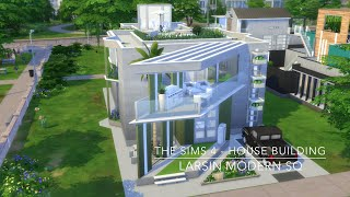 getlinkyoutube.com-The Sims 4 - House Building - Larsin Modern SQ