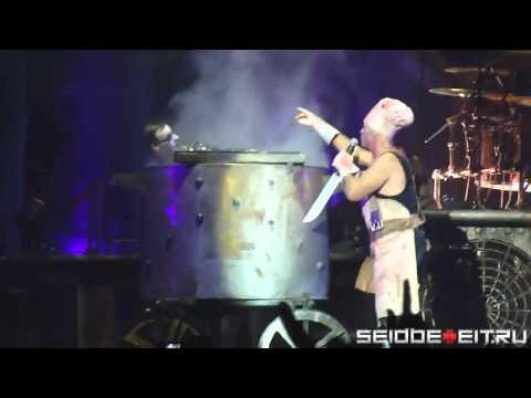 Rammstein - Mein Teil [06.11.2011 - Bratislava] (multicam by popaduba) HD